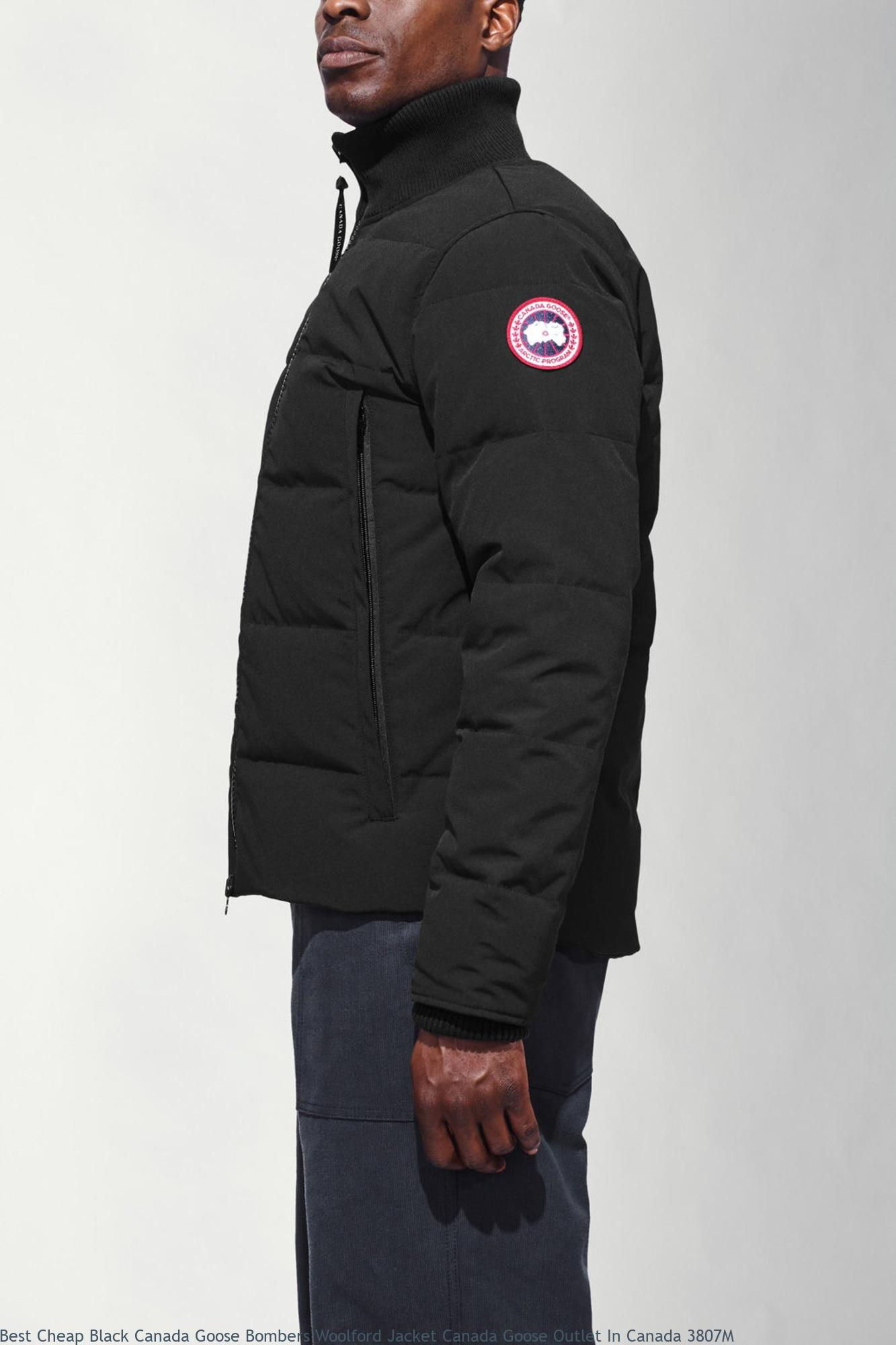 26c15591c6f Best Cheap Black Canada Goose Bombers Woolford Jacket Canada Goose Outlet  In Canada 3807M – Cheap Canada Goose Jackets Outlet Sale Online Store Free  ...