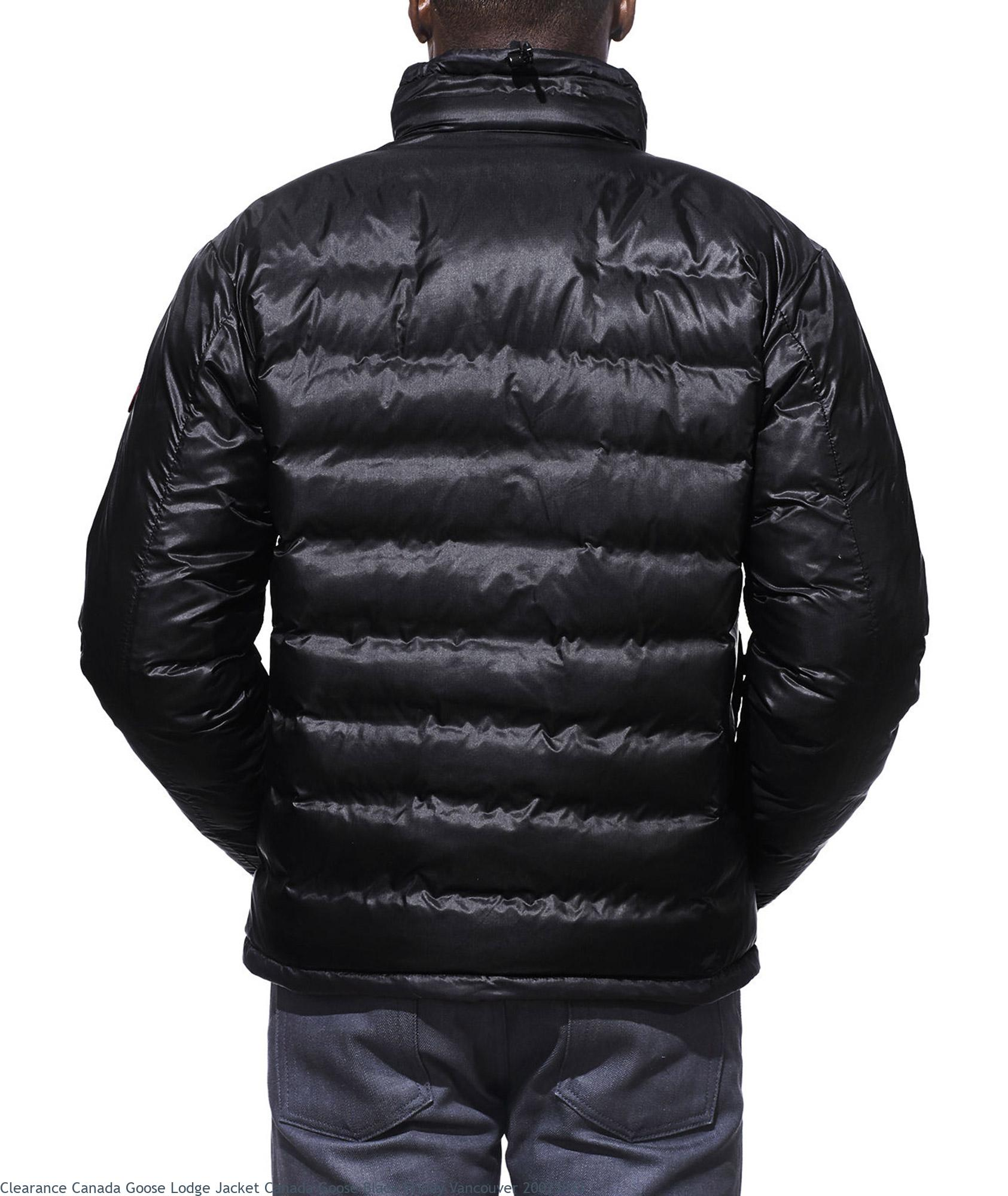 7bbbbfd1ffd Clearance Canada Goose Lodge Jacket Canada Goose Black Friday Vancouver  20023833