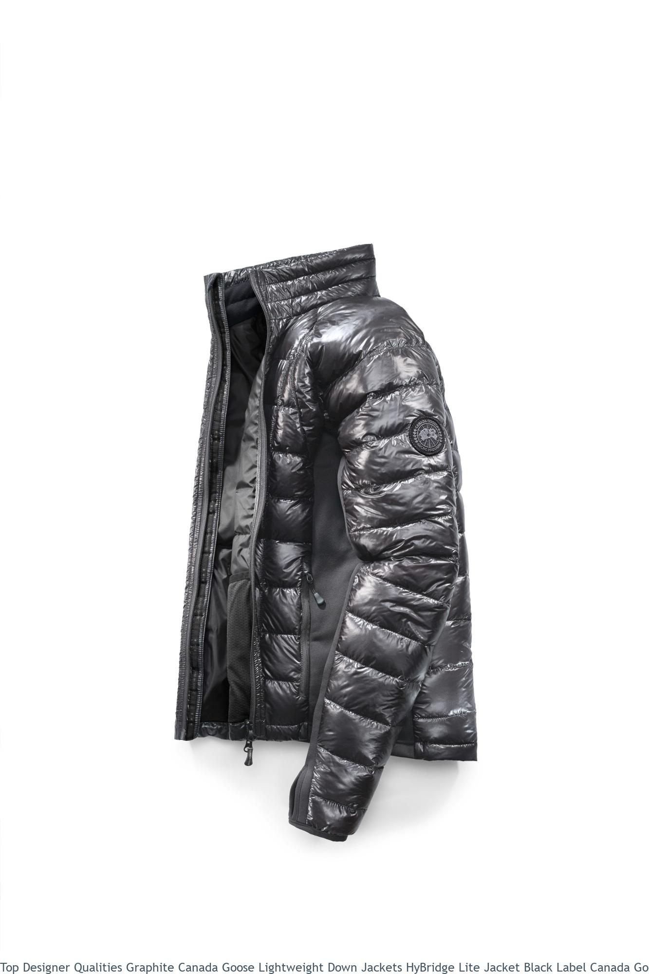Top Designer Qualities Graphite Canada Goose Lightweight